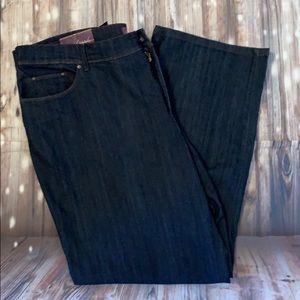 Gloria Vanderbilt Straight Leg Curvy Fit Jeans NWT